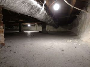 Why Seal Your Crawlspace with Cement & Spray Foam?