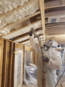 Part 5- Four Huge Benefits you can expect from your Spray Foam Insulation. And, is it reasonable to expect spray foam insulation to be installed safely in my home?
