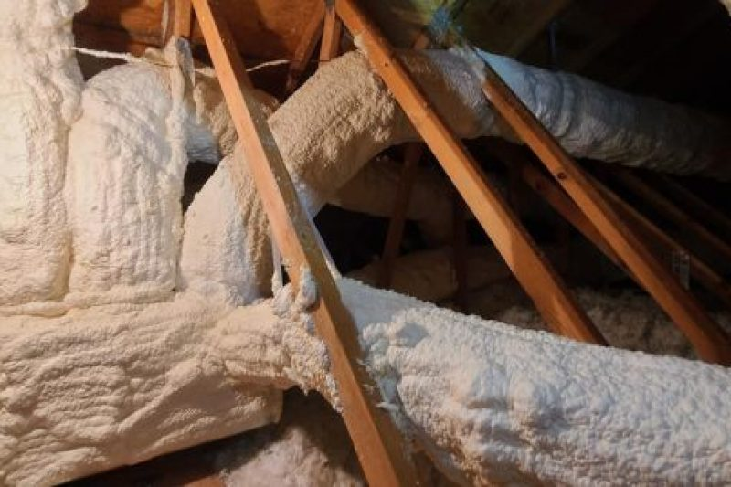 More Info on Spray Foaming Ducts